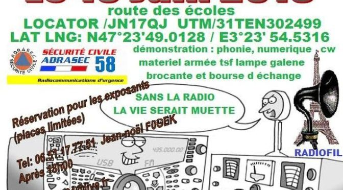 3e édition du salon radio de Courcelles